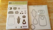 Stampin' Up Cling Mount Set Perfectly Preserve with Matching Framelet RETIRED!!