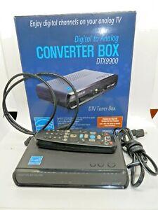Digital Stream DTX9900 Digital-to-Analog DTV Tuner Converter Box, Fully Tested