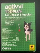 Great Deal: Activyl - Tick Plus Dog (22-44 lbs) 6 Month Supply!