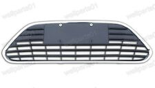 1Pcs Lower Front Bumper Grill w/Chrome Stripe For Ford Focus 2009-2011