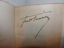 Prosa Memorie, Ferdinando Martini: Pagine Raccolte 1920 Sansoni autografo autore