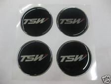 Wheel Center Emblem Set for TSW Rims Wheels 49mm in diameter -NEW- #794B