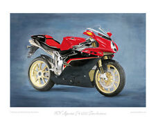 MV Agusta F4 1000 Tamburini - Limited Edition Collectors Art Print by Steve Dunn