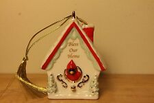 Lenox 2010 Annual Bless Our Home Christmas Ornament Nib &ready for the holiday
