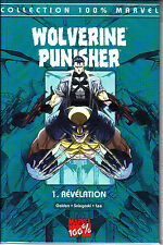 MARVEL 100%  : WOLVERINE  PUNISHER  N° 1   REVELATION    PANINI  COMICS