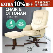Leather Chairs with Reclining