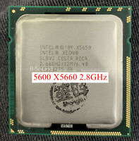 2PCS paired with Intel Xeon 5600 X5660 2.8GHz six-core processor CPU