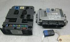 Peugeot 207 1.4 Hdi Diesel Ecu Bsi Kit 0281012529 9663475880