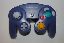 Official Gamecube Controller Indigo Purple Original Nintendo OEM Genuine Wii