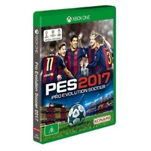 Xbox One - Pro Evolution Soccer 2017 **New & Sealed** PES (Pro Evo) - PAL
