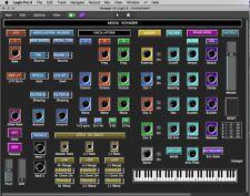 VIRTUAL Moog Voyager editor / programmer - LOGIC v4 - X