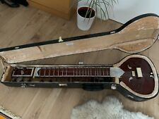 More details for sitar from bhatia musical new delhi, with hard case and waterproof covering