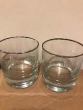 JACK DANIELS SINGLE BARREL SELECT TENNESSEE WHISKEY GLASS LOT OF 2 Free Shipping