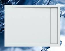 Duschbecken 1200x900 mm bzw. 900x1200 mm mit integrierter Duschrinne / Duschwann
