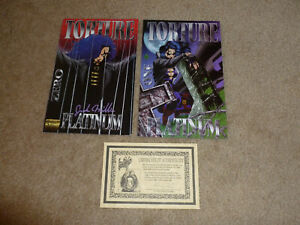 Torture Platinum Zero and One - Both Signed/Autographed by Jude Miller - COA (3)