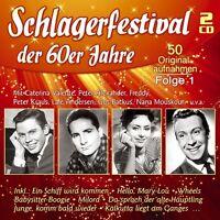 SCHLAGERFESTIVAL DER 60ER JAHRE, FOLGE 1 2 CD NEU