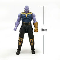 7'' Avengers Endgame Infinity War Thanos Action Figure Gauntlet Joints Move Toy
