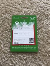 Microsoft Xbox LIVE 3 Month Gold Card for Xbox 360 / Xbox One Mail Only