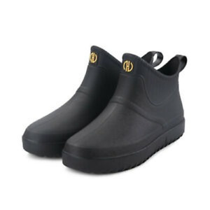 Men/Women Wellington Rain Boots Ankle Wellies Outdoor Waterproof Shoes Size 6-11