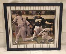 """Steiner Sports """"The Flip"""" 16X20 Autographed Jorge Posada Jeremy Giambi"""