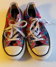 Girls Converse Shoes Size 12 Multi-colored