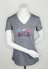 Louis Garneau Womens Cycling Love T-Shirt Grey Size M