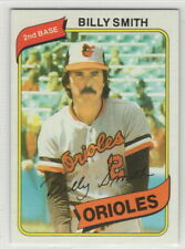 1980 Topps Baseball Baltimore Orioles Team Set