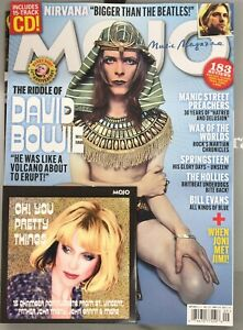 MOJO MAG-PLUS CD HUNKY DORY-SEPTEMBER 2021-THE RIDDLE OF DAVID BOWIE-IN STOCK