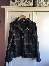 Ladies Animal Checked Jacket / Coat 12
