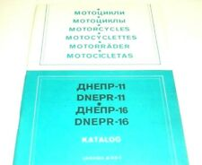 Parts Catalog for Dnepr (MT-11, MT-16)