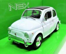 MODELLINO AUTO FIAT 500 L 500L SCALA 1:24 DIECAST COLLEZIONE EPOCA MODELLISMO
