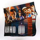 DR. Who 50th Anniversary Fleece Blanket 50x60 Polyester 2013