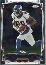 Topps Chrome Football 2014 Veteran Card #5 Demaryius Thomas - Denver Broncos