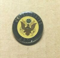 VINTAGE PIN UNITED STATES ARMY TIE HAT JACKET LAPEL TACK ENAMEL USA MILITARY