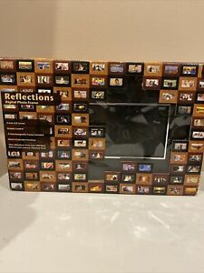 """Reflections 8"""" Digital Photo Frame LCD Remote Control 3 Frames New Opened Box"""
