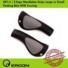 Ergon GP1-L / S Ergo Handlebar Grips Large or Small Folding Bike MTB Touring