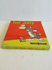 """Film super 8 Tom & Jerry """"Trois petites pestes"""" N&B et muet Film Office"""