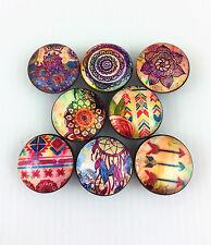 Set of 8 Boho Gypsy Cabinet Knobs Drawer Knobs