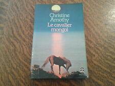 le livre de poche le cavalier mongol - christine arnothy