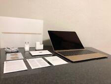 "Apple MacBook 12"" Retina Notebook 1,1 GHz 8GB RAM 256GB SSD Gold (Early 2015)"