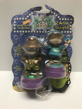 Nickelodeon RUGRATS 2 Action Stampers Phil Chuckie Limited Edition 1998 New