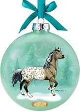 Breyer Horses 2020 Christmas Holiday Artist Signature Ornament Appaloosas 700824