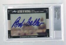 2012 Leaf History of Baseball Bob Feller Autograph Leaf Cut Signature