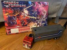 G1 Transformers Optimus prime 1982 ***VINTAGE W/INSTRUCTIONS***