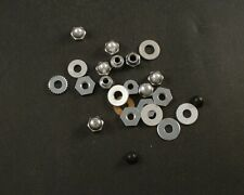 vintage bicycle brake parts serrated washer nuts spacers lot NEW old stock