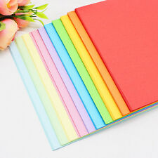 100 Sheet Multi-color Kid's Toy A4 Square Origami Colored Paper Double Sided