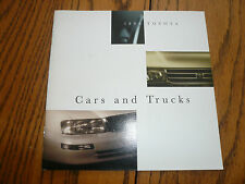 1995 Toyota Camry Corolla Quest Land Cruiser Paseo MR2 4Runner Sales Brochures