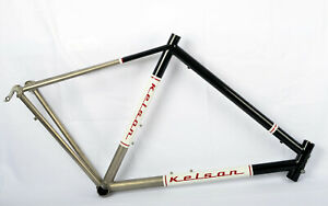 Kelson Custom Cycles Handmade Titanium 700c Road Bike Bicycle Frame 54cm