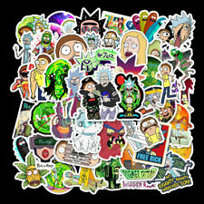 30 RICK AND MORTY MR POOPY STICKER PACK GLOSS VINLY DECAL STICKERS!!