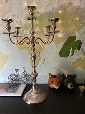80cm Stainless Steel Wedding Christmas Candleholder Candelabra Table Centrepiece